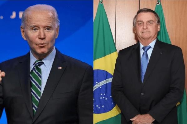 Bolsonaro é convidado por Joe Biden à participar de reunião sobre clima