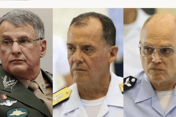 """Comandantes militares: """"As Forças Armadas seguirão seu papel constitucional"""""""