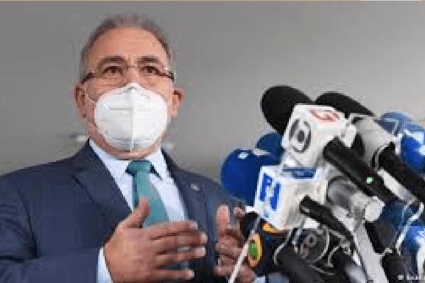 Ministro da Saúde volta a dizer que é contra lockdown nacional Medidas mais extremas precisam ser tomadas de forma localizada