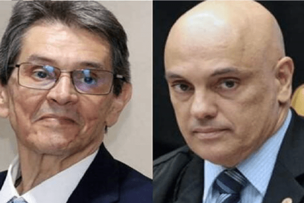 Alexandre de Moraes mira Roberto Jefferson no inquérito das fakes news