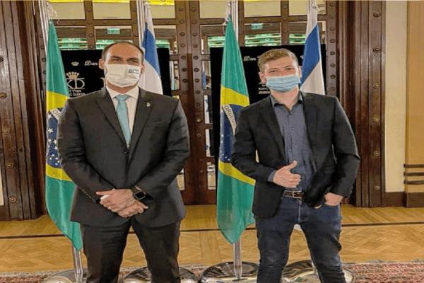 CPI pretende investigar viagem de Eduardo Bolsonaro a Israel