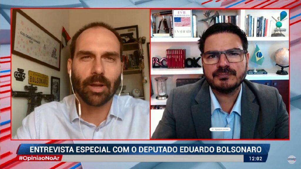 Eduardo Bolsonaro sobre novos ministros do governo