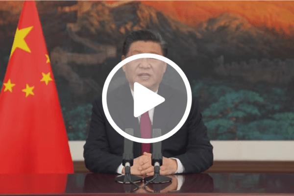 Em discurso, Xi Jinping defende uma nova ordem mundial