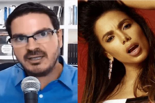 Rodrigo Constantino entra em ação contra Anitta e pede indenização