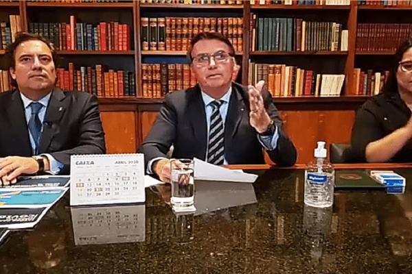 YouTube remove vídeo em que Bolsonaro defende tratamento precoce