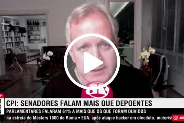 Augusto Nunes detona Renan Calheiros