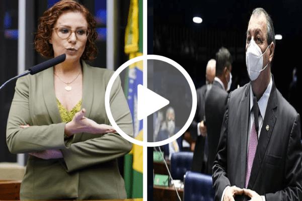 Deputada Carla Zambelli critica Omar Aziz por 'humilhar' o ex-secretário de Comunicação Fabio Wajngarten