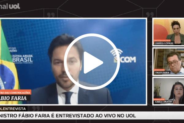 """Fábio Faria sobre Datafolha: """"Bolsonaro não se baseia em pesquisas"""""""