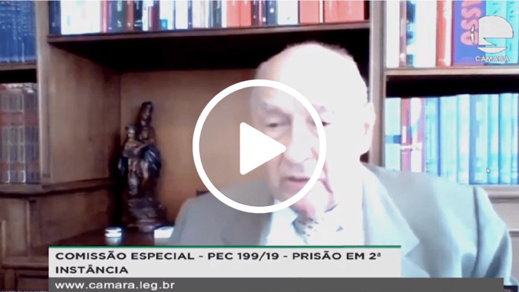 Ives Gandra Martins: 'Prisão em 2ª instância faz com que o crime não mais compense'