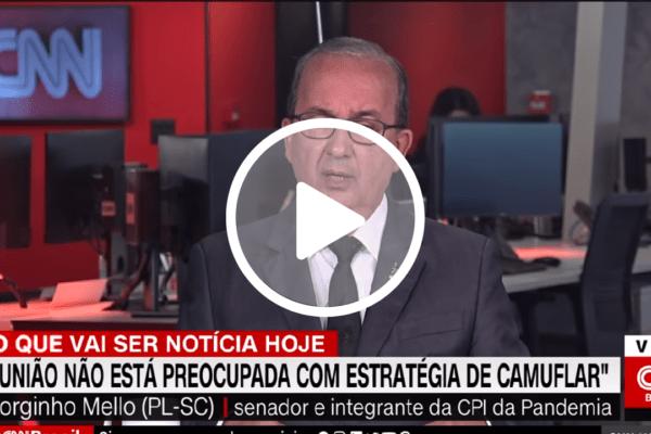 'Mandetta aproveitou CPI para fazer palanque político', diz senador Jorginho Mello