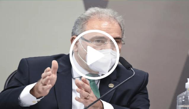 Marcelo Queiroga dispara contra pergunta tendenciosa
