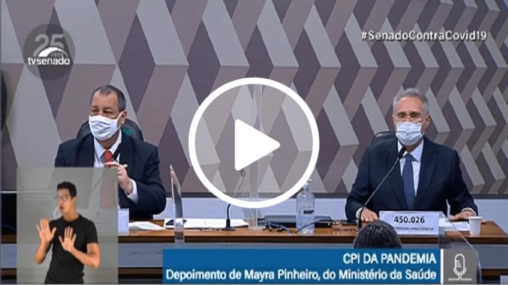 Na CPI, Renan Calheiros fala de Tribunal que julgou nazistas e provoca confusão