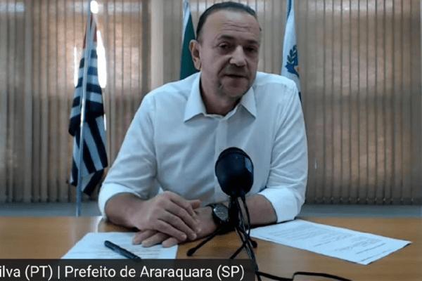 Prefeito petista de Araraquara (SP) determina regras para novo lockdown