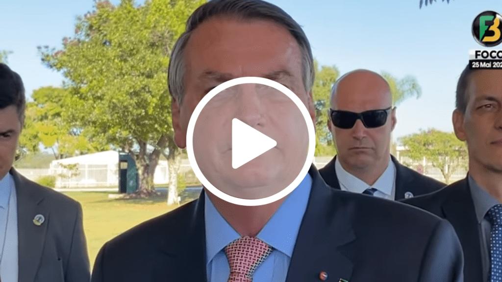 Presidente Bolsonaro defende candidatura de Tarcísio ao governo de SP: 'Acho que ele leva'