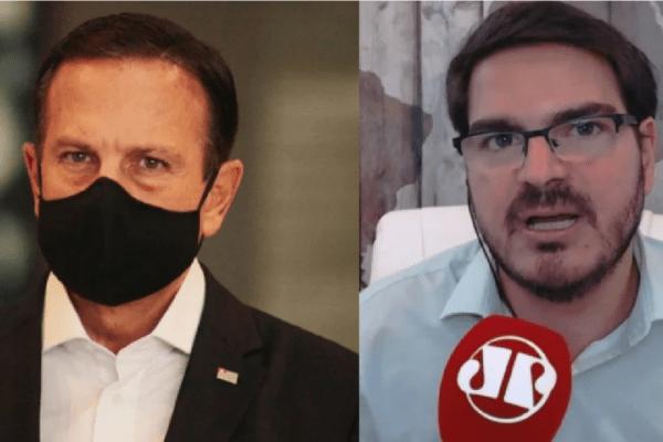 Rodrigo Constantino ironiza 'solidariedade' de Doria com desempregados