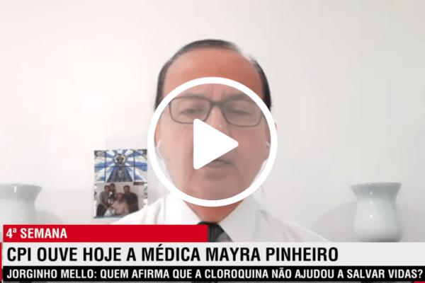 Senador Jorginho Mello defende Dr. Mayra Pinheiro