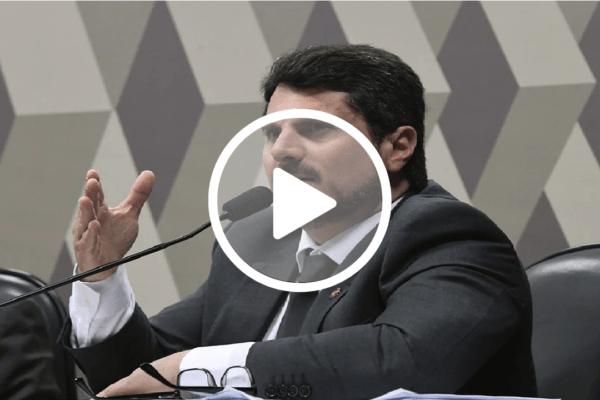 Senador Marcos do Val diz que Mandetta vai usar a CPI como palanque