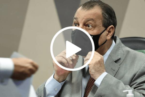 Senador Omar Aziz pede que MP investigue veracidade do depoimento de Fabio Wajngarten
