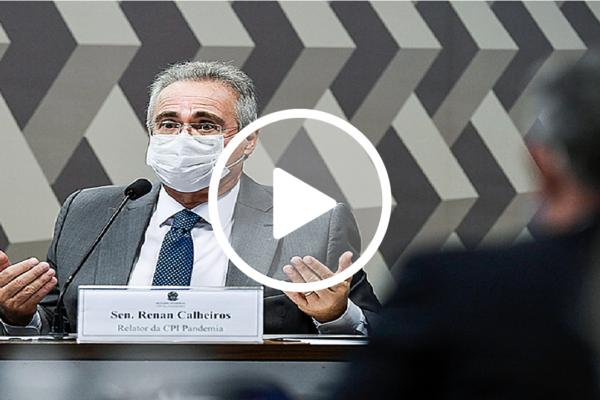 Senador Renan Calheiros não quer a Polícia Federal na CPI