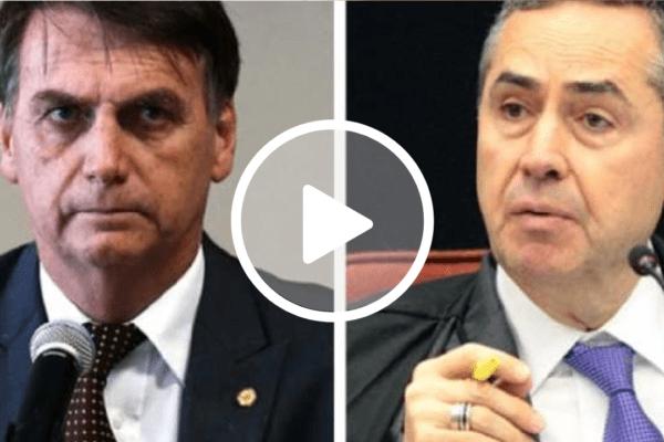 Bolsonaro confronta Barroso
