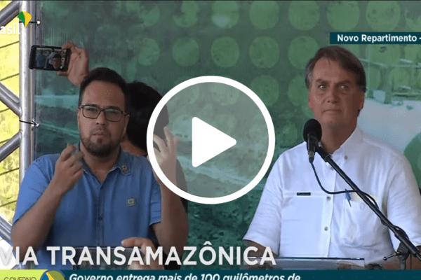 Bolsonaro manda recado para Renan e Randolfe: 'Não vai ser uma CPI da mentira que derrubará o governo'