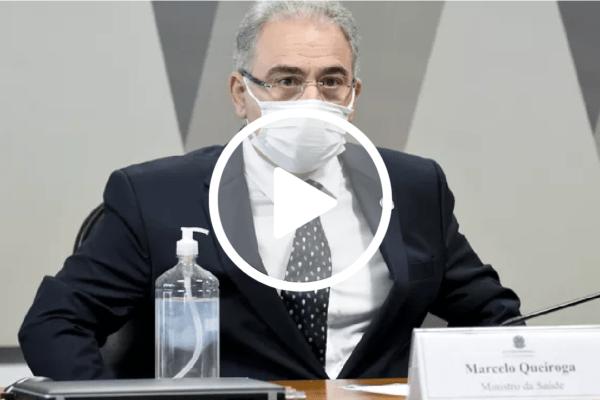Marcelo Queiroga diz não estar preocupado em ser investigado pela CPI