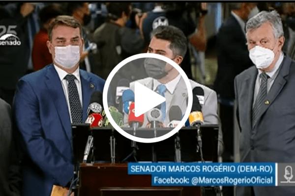 Senador Marcos Rogério critica andamento da CPI e dispara