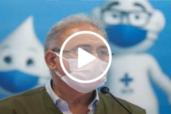 """""""Toda a população será vacinada até o fim do ano"""", afirma Marcelo Queiroga"""