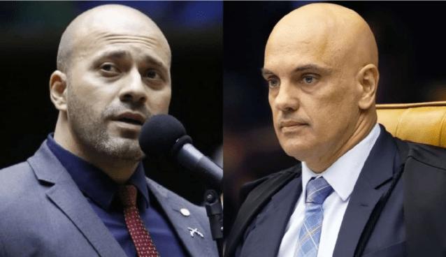 Alexandre de Moraes autoriza saída temporária de Daniel Silveira