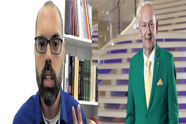 Após acusações da Globo, Luciano Hang e Allan dos Santos desafiam emissora.