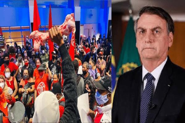 Bolsonaro critica protesto dos MTST e invasão à Bolsa de Valores de SP