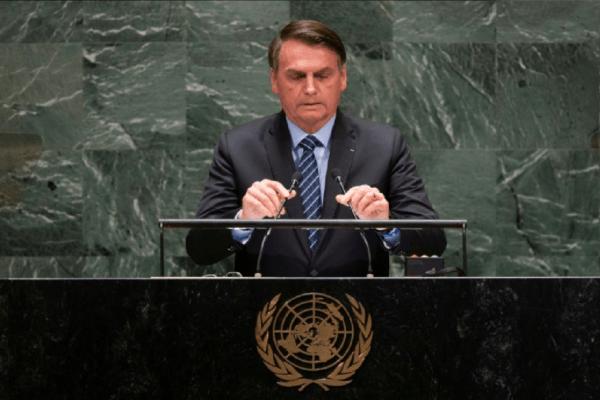 Bolsonaro na ONU abrange 2ª lugar nas pesquisas do Google