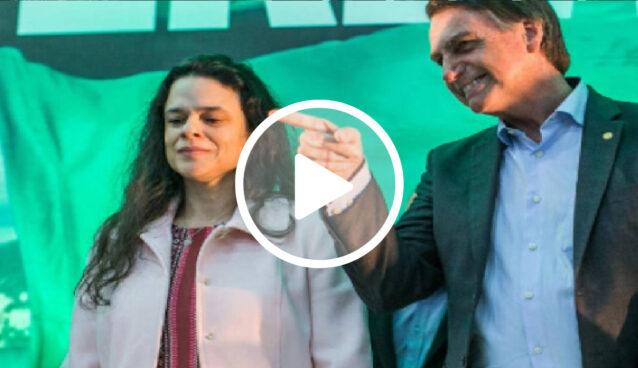 """Janaína Paschoal sobre vídeo de Marinho: """"Parece campanha para o Bolsonaro"""""""