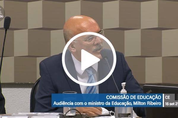 'Peço minhas sinceras desculpas a quem ofendi', diz ministro da Educação Milton Ribeiro