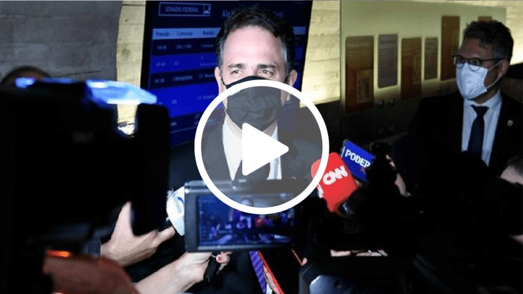 Rodrigo Pacheco diz que conversará com Alcolumbre sobre sabatina de André Mendonça